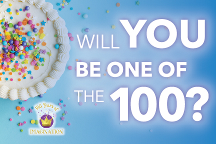 WILL YOU BE ONE OF THE 100?
