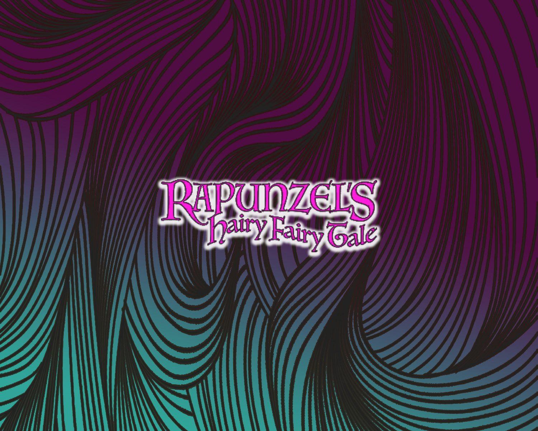Rapunzel Hairy Fairy Tale logo